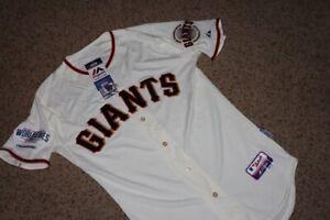 Majestic On Field Home Jersey 40 San Francisco Giants 2014 World Series w Tags