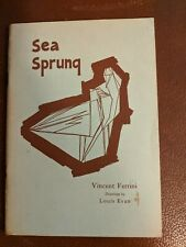Sea Sprung by Vincent Ferrini (1949 inscribed)