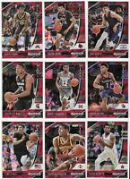 2020-21 Prizm Draft Red Ice Lot Of 20 Different W/ LaMelo Ball Deni Avdija ++