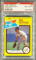1987 Drake'S Hand Cut #8 Don Mattingly PSA 8 NM-MT *Only 13 Cards Graded Higher*