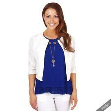 Polyester Machine Washable Solid Bolero, Shrug Coats, Jackets & Vests for Women