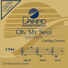 Casting Crowns - Oh My Soul -  Accompaniment CD NEW