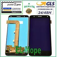 DISPLAY LCD ALCATEL POP 4 OT-5051D OT 5051X TOUCH SCREEN VETRO ASSEMBLATO NERO