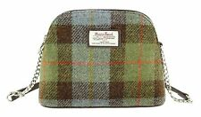 Ladies Authentic Harris Tweed Small Shoulder Bag Gunn Tartan LB1120 COL 15