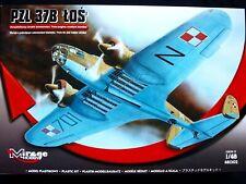 Mirage 481302, 1/48 PZL-37B Los bomber, SCALE 1/48