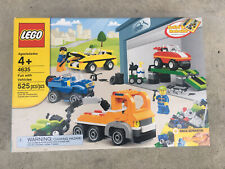LEGO Fun with Vehicles (4635) BRAND NEW, FACTORY SEALED, RETIRED