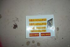 REPRODUCTION BRITAINS 1:32 NEW HOLLAND TR 85 COMBINE  DECAL SET