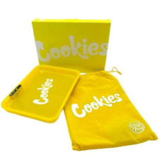 More details for new cookies glow tray rechargeable led light up rolling tray gift