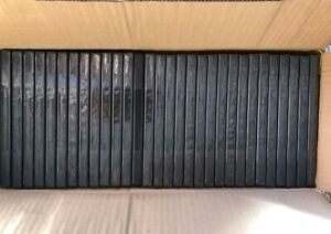 Lot of 30 Empty Black DVD Case Please Read Description With Wrap-Around Sleeve