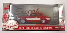 GREENLIGHT FORD ESCORT MK 1 1974 RS2000 RED/WHITE 1:43 DIECAST MODEL 1:43