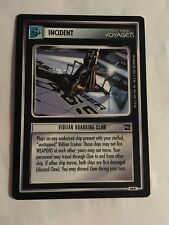 Star Trek CCG 1E Vidiian Boarding Claw 66R Rare Card