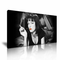 PULP FICTION CANVAS WALL ART PICTURE PRINT STRETCHED 20X30 INCHES