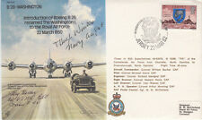 Introduction of Boeing B.29 Signed H Hansen & Capt H Winters USA Fighter Aces.