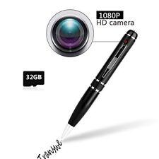 Pen Camera with 32GB Transwe Full HD Video USB 1080P mini Spy Pen with Hidden