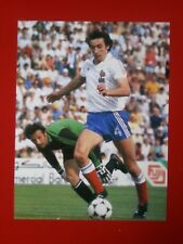 FOOTBALL repro PHOTO BOSSIS et AL TARABULSI COUPE DU MONDE 1982 format 23/30