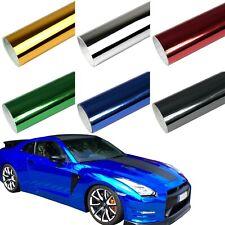 9,86?/m² Premium Chrom Autofolie 3D Flex BLASENFREI Glanz Folie selbstklebend