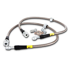 Brake Hydraulic Hose-Stainless Steel Brake Lines Front Stoptech 950.33006