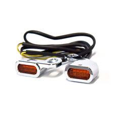 Frecce Harley Led Aracione Omologate da Manubrio Softail Dyna Sportster Cromate