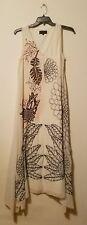 NWOT Anthropologie  Geisha Designs  Embroidered Sheena Maxi dress Ivory size M