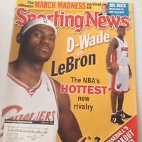 Sporting News Magazine Dwayne Wade LeBron James March 24, 2006 072017nonrh