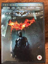CHRISTIAN BALE HEATH LEDGER IL CAVALIERE OSCURO ~2008 DC BATMAN 2-Disc UK DVD