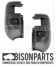 *IVECO DAILY (1999 - 2012) BLACK REAR BUMPER CORNERS RH & LH IVE906 & IVE907