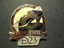 Disney D23 Membership Exclusive Charter Year Cinderella Slipper With Gus Pin