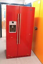 Britannia RRGT2DFBFGP Montana American-Style Fridge Freezer in Red