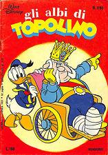 [808] GLI ALBI DI TOPOLINO ed. Mondadori 1977 n.  1195 stato Ottimo