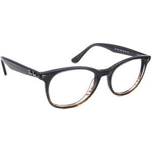 Ray-Ban Eyeglasses RB 5356 5766 Smokey Gray Gradient Round Frame 52[]19 145