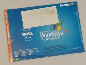SEALED Dell Reinstallation CD Microsoft Windows XP Professional Service Pack 2