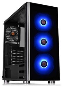 Thermaltake V200 Tempered Glass RGB Edition 12V MB Sync Capable ATX Mid-Tower 3