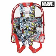 Cartable Marvel 72901 Transparent Rouge
