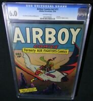 Airboy Comics v2 #11 CGC 6.0 ~1st Airboy In His Own Title~