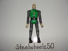 Incredible Crash Dummies Figure Mattel 2003 Green Grey Head Popping Hot Wheels