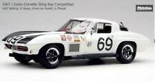 Exoto 1/18 1967 Corvette #69 Sebring 12 Hours Wilton Jowett Jr. Mouat MTB00072