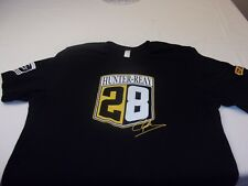 Hunter-Reay #28 DHL  Men's M T-shirt Black Andretti Team - 2014 Indy 500 Champ