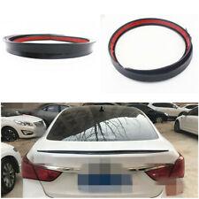 Flexible Durable PU 1.2M Car Rear Trunk Spoiler Rear Wing Lip Decoration Sticker