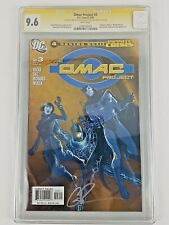 DC Comics (2005) The Omac Project #3 CGC SS 9.6 Signed By Greg Rucka - B23