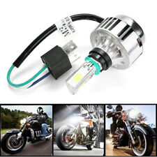 Motorcycle HID H4 3000LM 32W 6000K Triple COB LED 360° Beam Waterproof Headlight