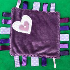 BLANKIE tag COMFORT BLANKET comforter LABELS 30cm *new*