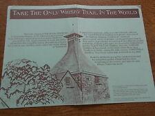 Grampian Scotch Whisky Trail leaflet Glenfiddich Glenfarcas Tamdhau Strathisla