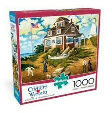 Charles Wysocki Jigsaw Puzzle A Delightful Day On Sparkhawk Island NIB