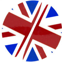Kit 2x sticker adesivo maniglia maniglie interne portiera UNION FLAG Mini Cooper