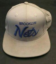 Brooklyn Nets NBA Mitchell And Ness Snapback Hat Grey