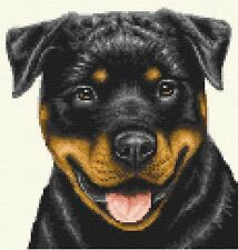 ROTTWEILER dog  ~ Full counted cross stitch kit