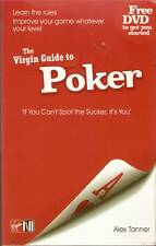 Alex tanner THE VIRGIN GUIDE TO POKER with DVD pb