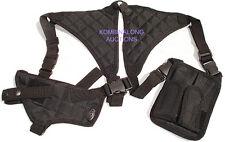 Black Shoulder Holster L/R Hand Draw Fits SIG 220 226 229 CZ75 CZ85 Hk USP VP9
