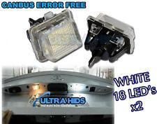 MERCEDES Classe W204 W207 W212 W216 W221 LED Targa Luci Targa CANBUS