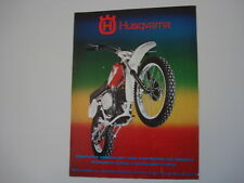 advertising Pubblicità 1976 MOTO HUSQVARNA CR 250 CROSS